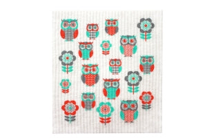 Swedish Sponge Cloths - Owl