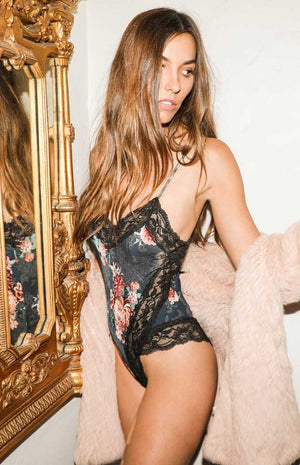 Corinne Kay Collections Floral Bodysuit