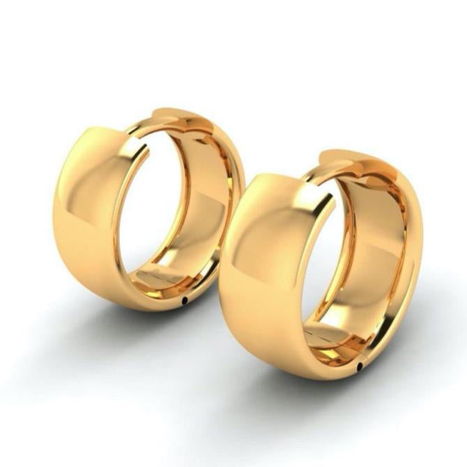 Valentina Gold Hoops