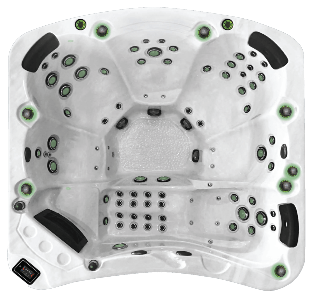 BE WELL E680 Luxury Hot Tub - the-hot-tub-place