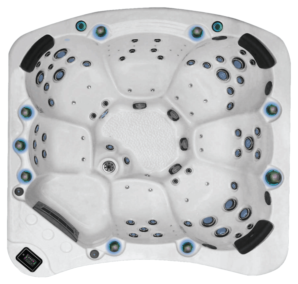 BE WELL E770 Elite Hot Tub - the-hot-tub-place