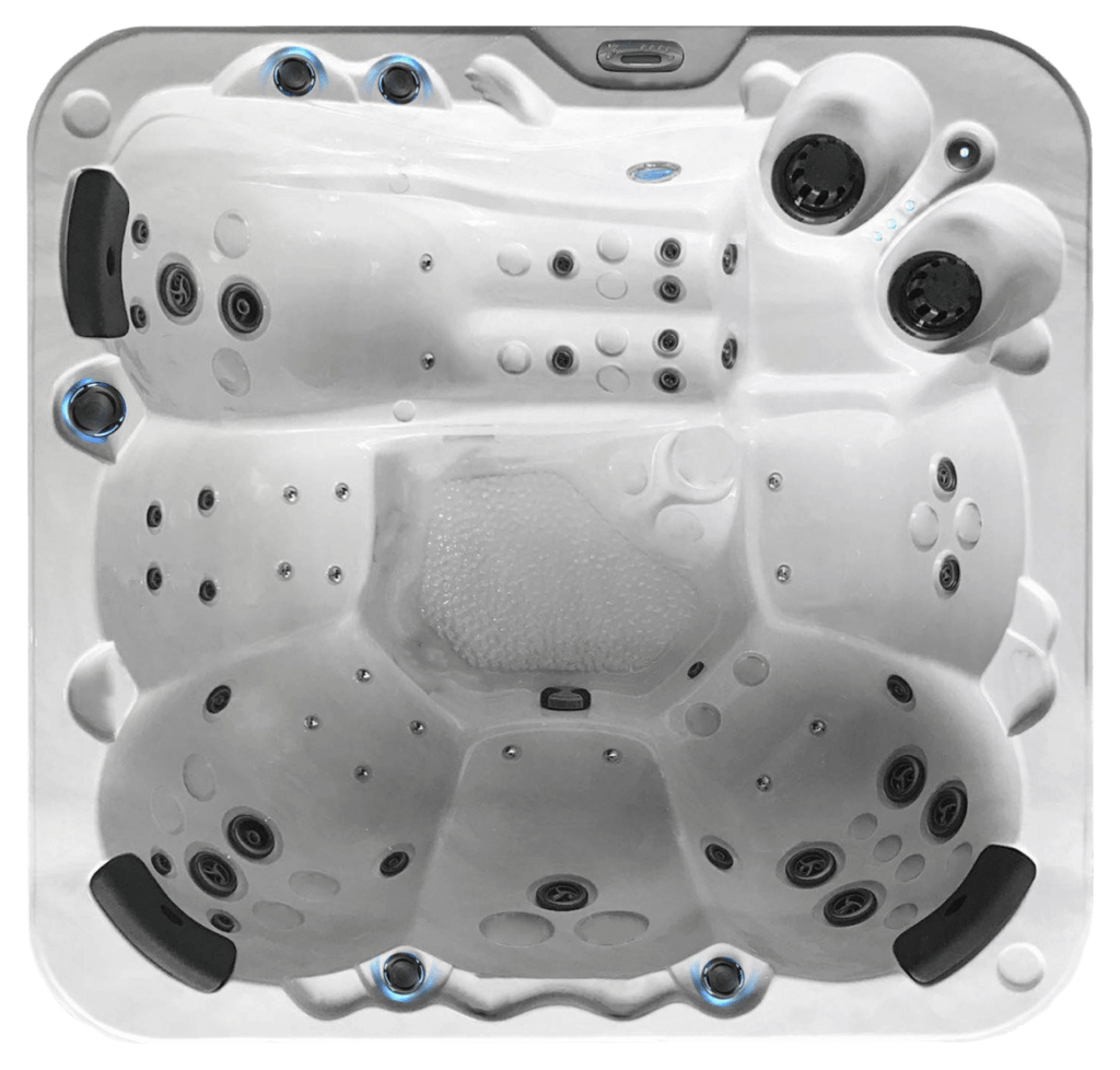 BE WELL O647 Deluxe Hot Tub - the-hot-tub-place