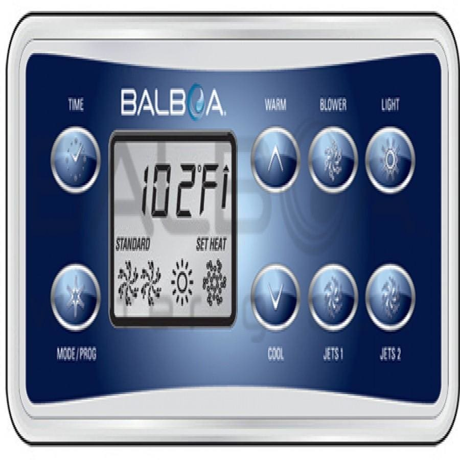 Balboa VL801D Panel - the-hot-tub-place