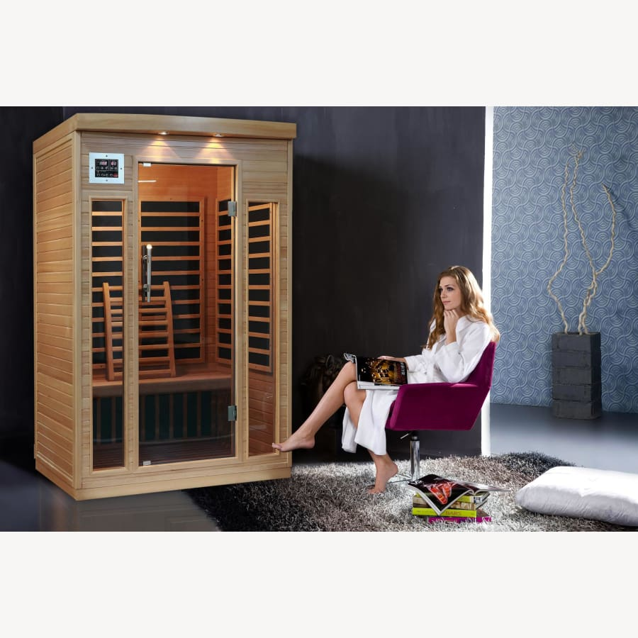 ORIANA 3 PERSON SAUNA - the-hot-tub-place