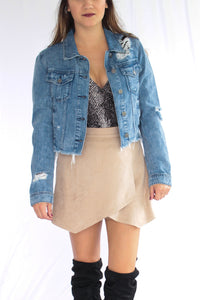 Acid Wash Denim Jacket
