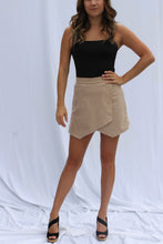 Taupe Suede Shorts