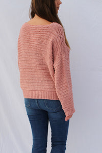 Mauve Over Sized Sweater