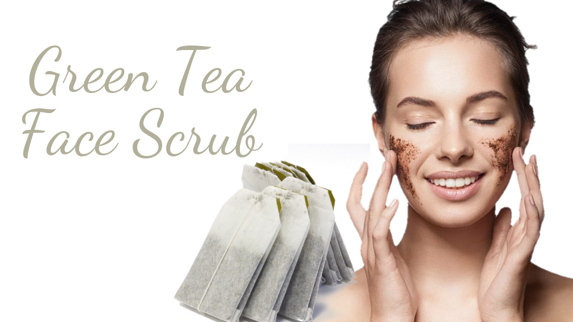 DIY Green Tea Facial Scrub
