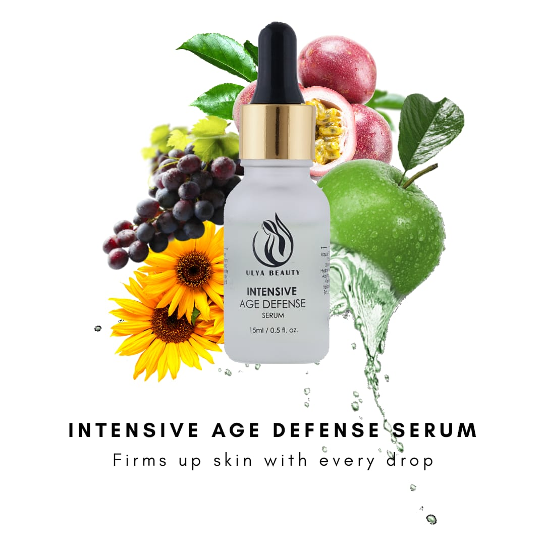 5 Active ingredients can be found in Ulya Intensive Defense Serum