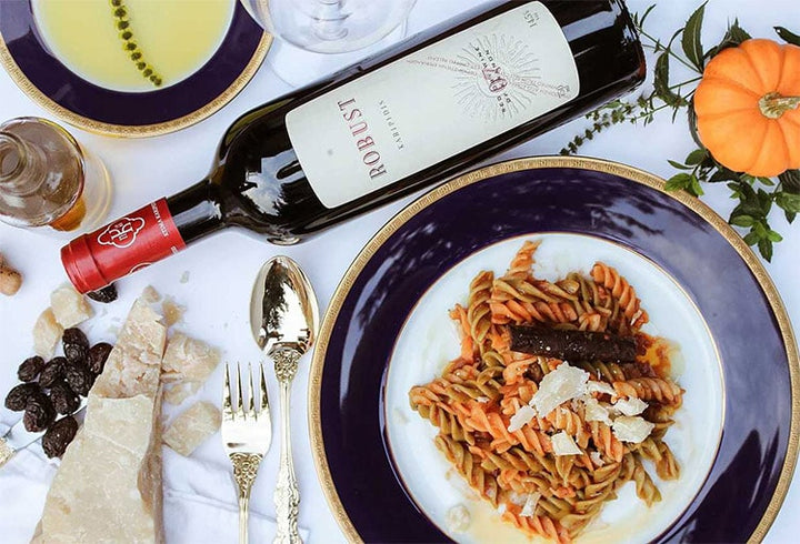 Winter Wines with Pumpkin and Pasta