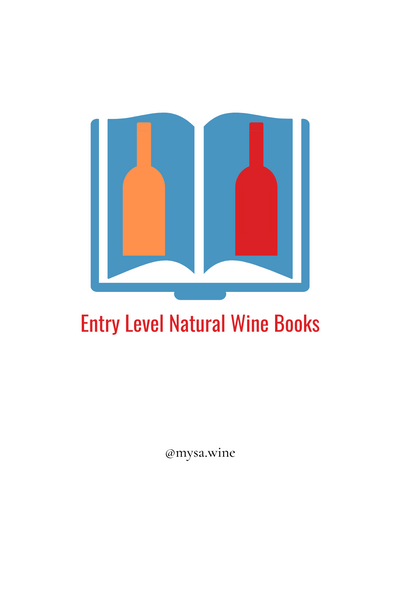 ENTRY LEVEL NATURAL WINE BOOKS