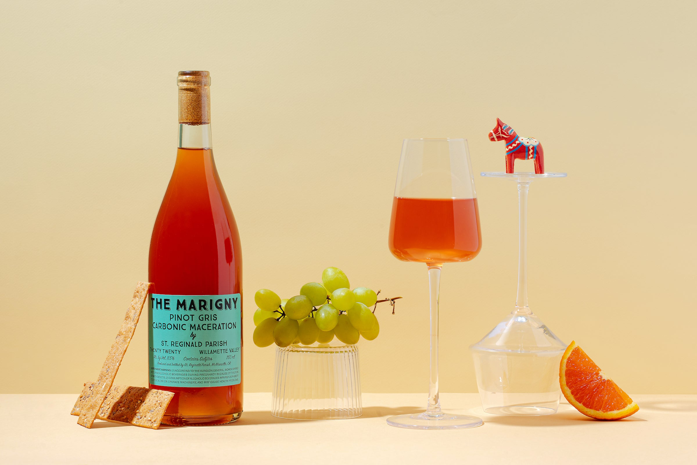 carbonic pinot gris ramato from the marigny natural wine