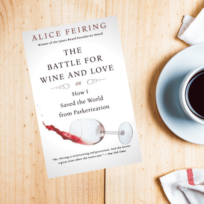 The battle for love and wine book