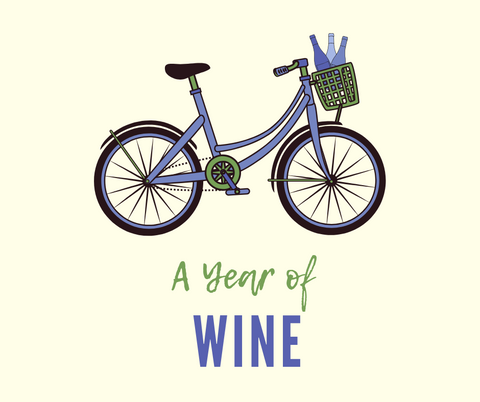 A Year of Wine Logo