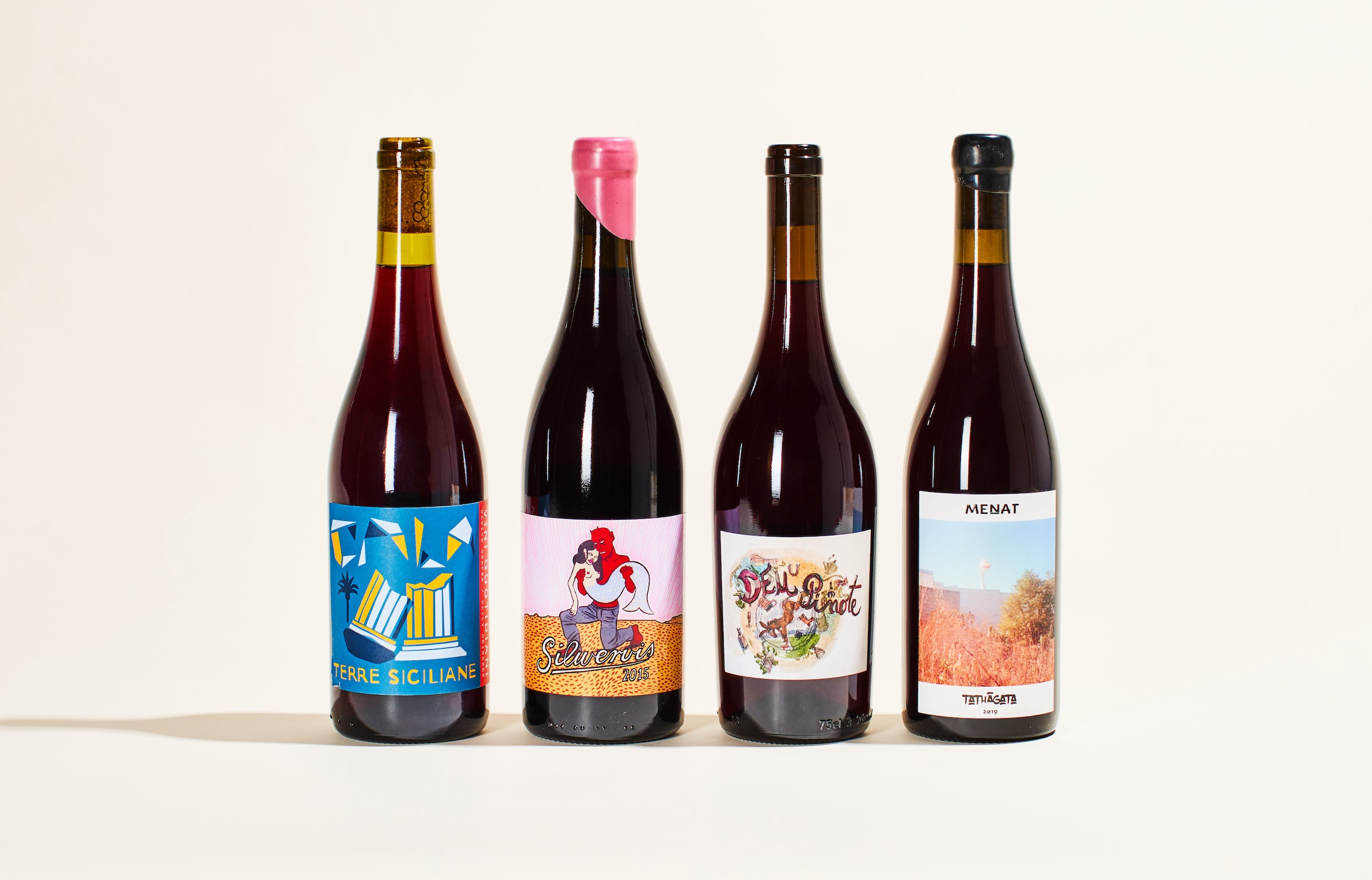 red natural wine club april 2021