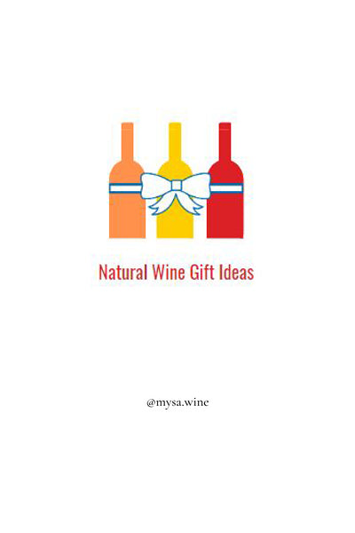 NATURAL WINE GIFT IDEAS