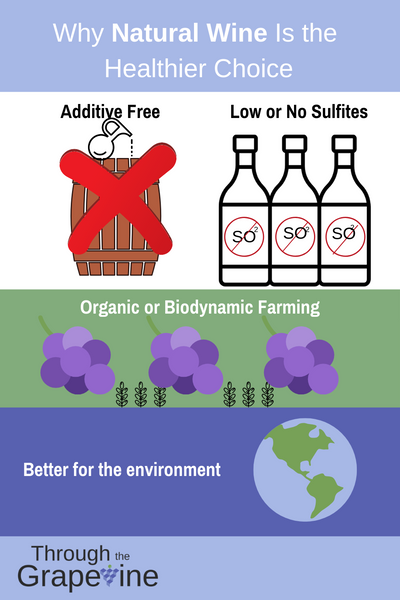Infographic on Why Natural Wine is Healthy
