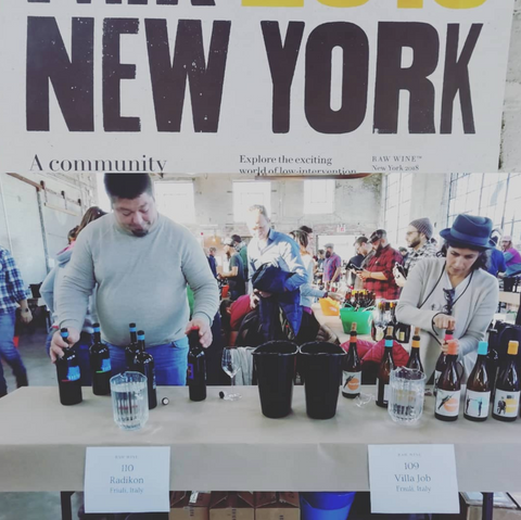 Villa Job Natural Wine at Raw Wine New York 2018