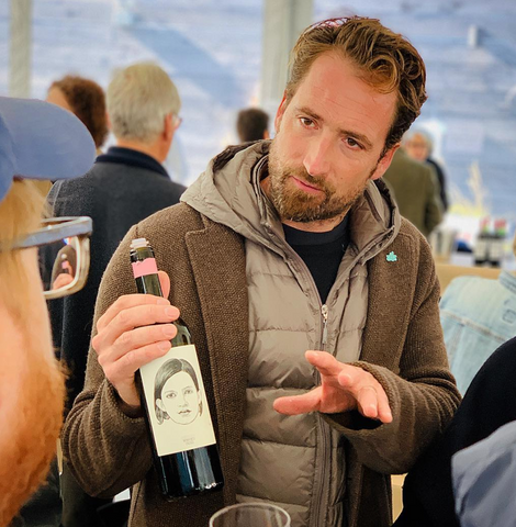 gut oggau natural winemakers pouring at raw wine 2018