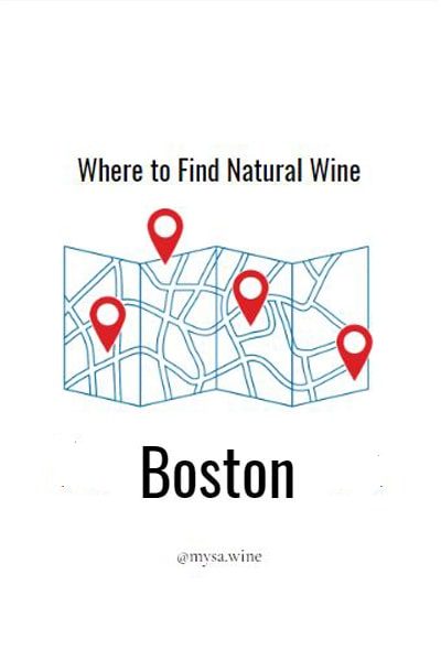 Where to Find Natural Wine Boston Pin