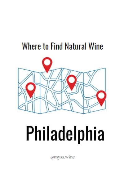 Where to Find Natural Wine Philadelphia Pin
