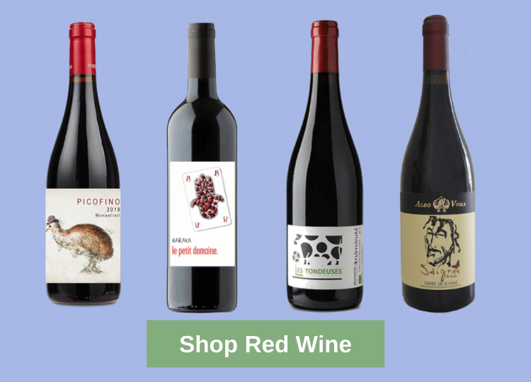 Shop Natural Red Wines Online
