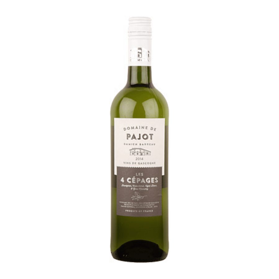 les-quatre-cepages-domaine-de-pajot-natural-white-wine-south-west-france