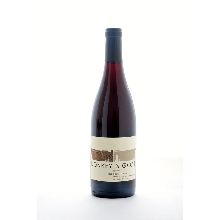 grenache-noir-donkey-and-goat-natural-Red, Co-Ferment-wine-California-USA