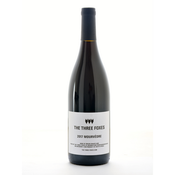 mourvèdre-the-three-foxes-natural-Red-wine-Western Cape-South Africa