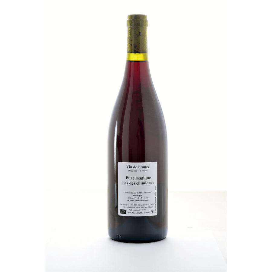 pure-magique-pas-de-chimique-anders-frederick-steen-natural-Red, Co-Ferment-wine-Ardeche -France
