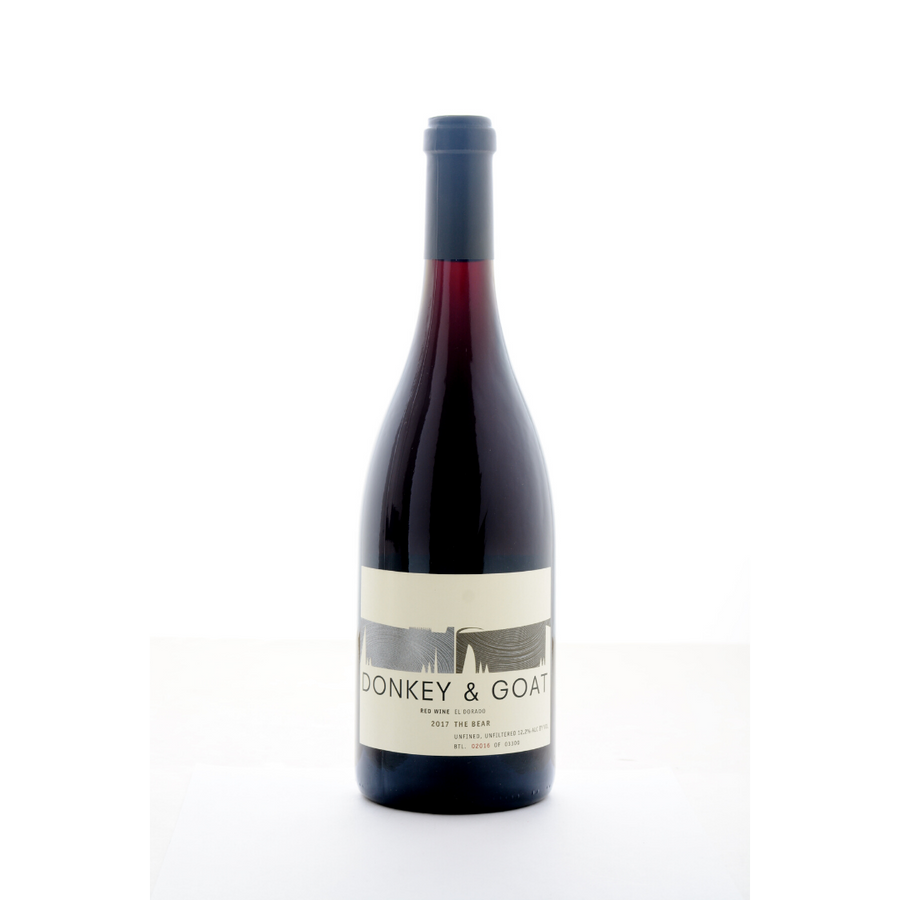 the-bear-donkey-and-goat-natural-Red, Co-Ferment-wine-California-USA