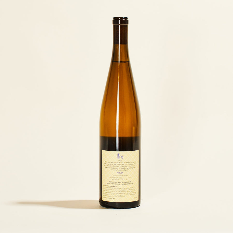 Thistle Vineyard Pinot Gris 2019 <br> Maloof