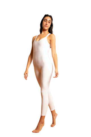 The Spicy All-White Backless Onesie