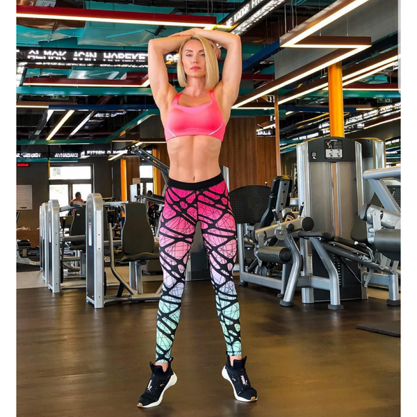 Invigorating Workout Leggings in Pink