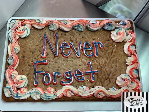 Cookie Cake -Never Forget 9/11