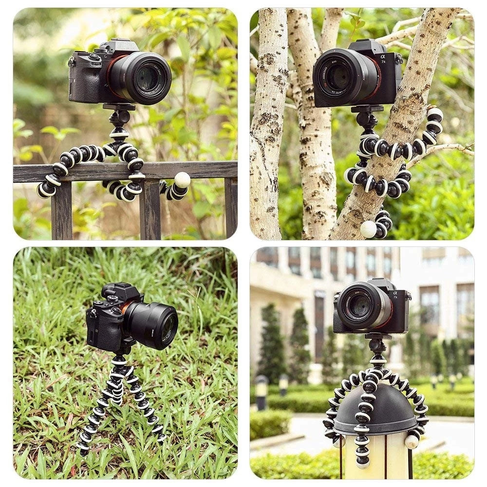 Flexible Lightweight Portable Tripod For Projector DSLR Cameras