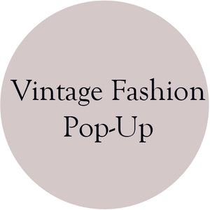 Vintage Fashion Pop Up