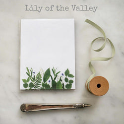 Small Notepad, Lilly Of The Valley