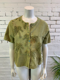 Vintage Palm Tree Shirt (M)