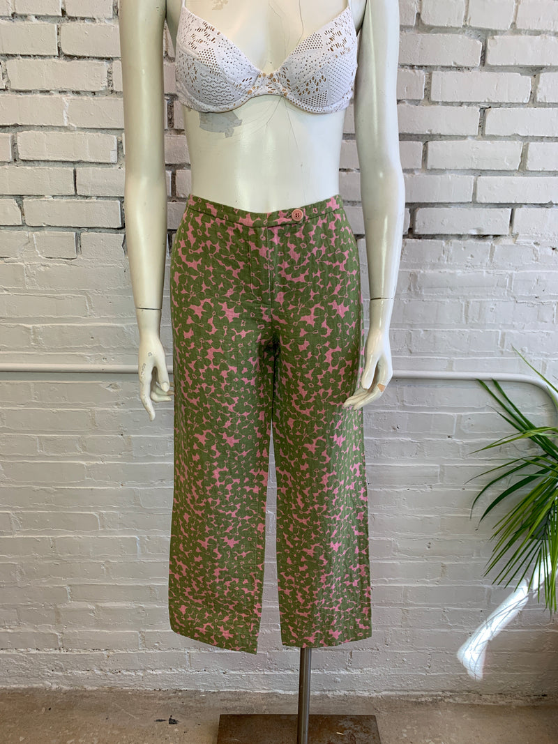 Vintage Moschino Cheap and Chic Floral Trousers (M)