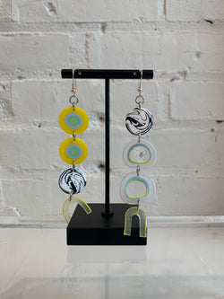 Dropout Glass Earrings