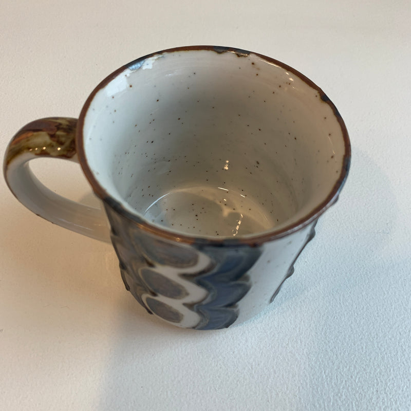 Vintage Swirls and Dots Mug