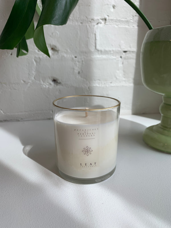 Soy Candle Essential Oil Fragrance - Leaf