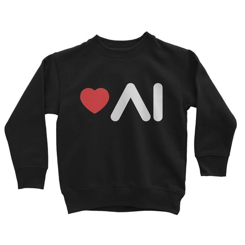 Love AI Kids Sweatshirt