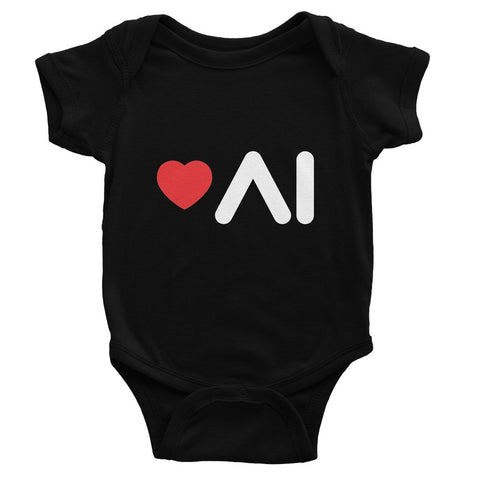 Love AI Baby Bodysuit