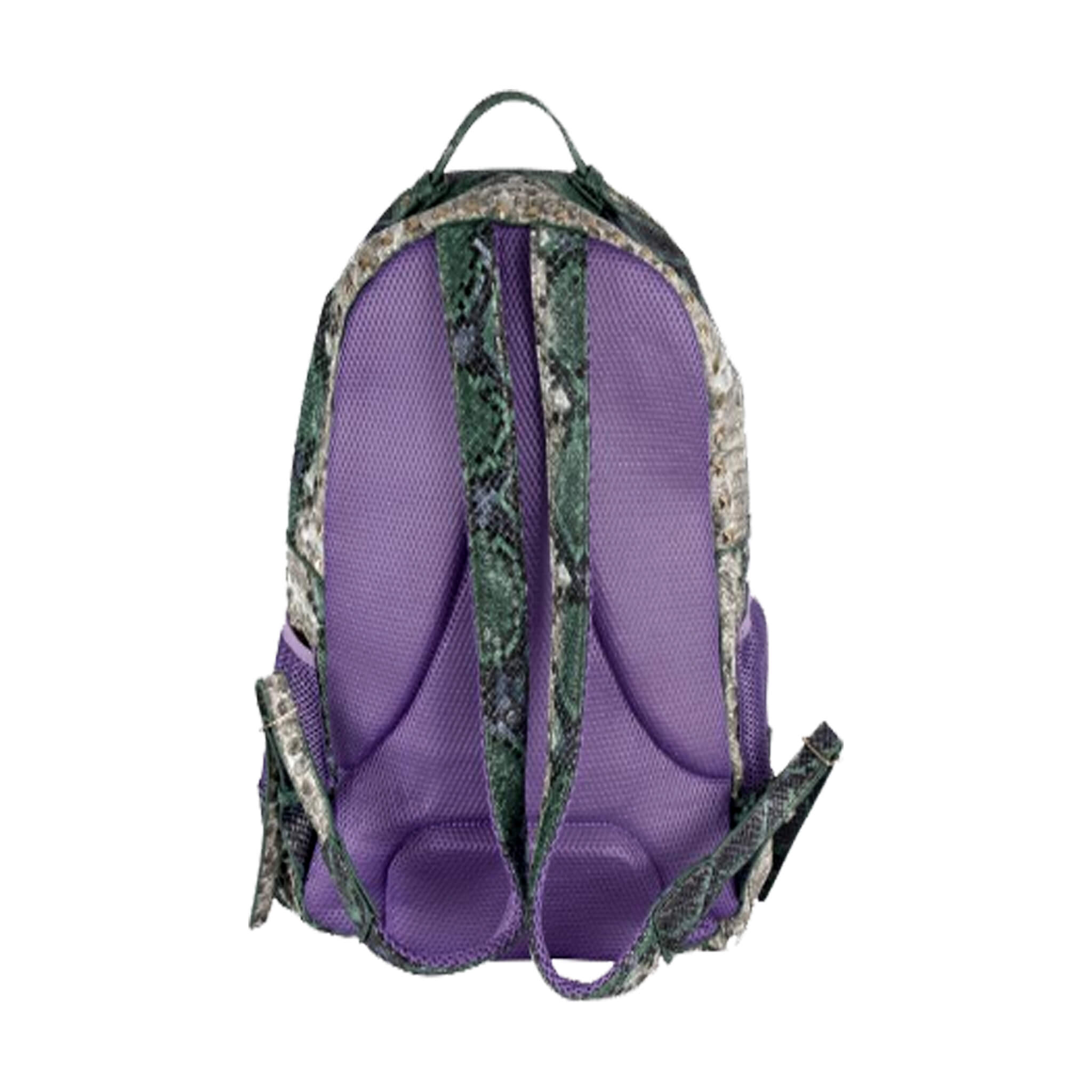 Purple And Green Backpack- Fenix Toulouse Handball 7ce7df0b0575d