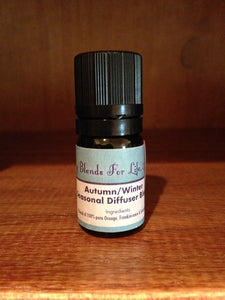 Autumn/Winter Diffuser Essential Oil Blend
