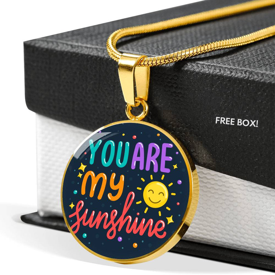 You Are My Sunshine - Luxury Necklace