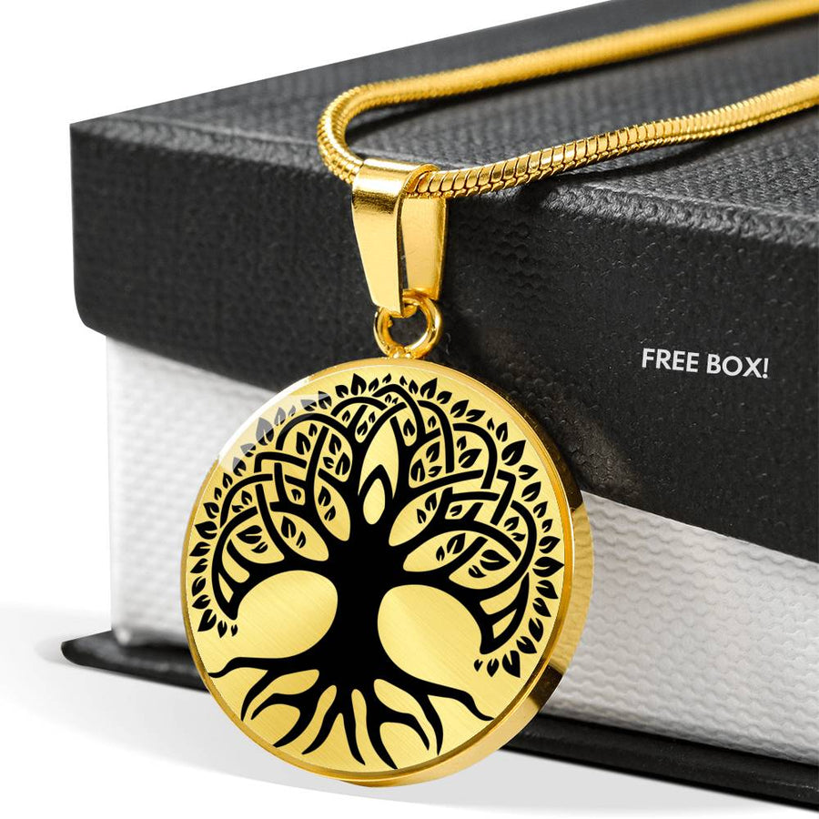 Celtic Tree of Life v13 - Luxury Necklace
