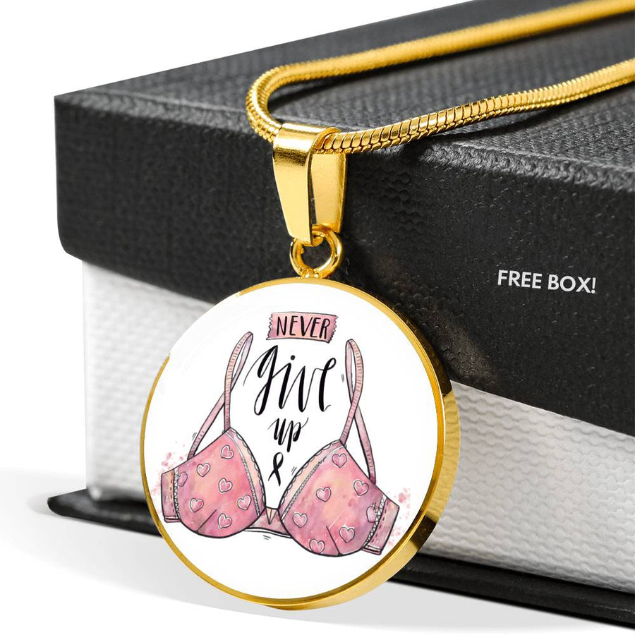 Never Give Up - Luxury Necklace